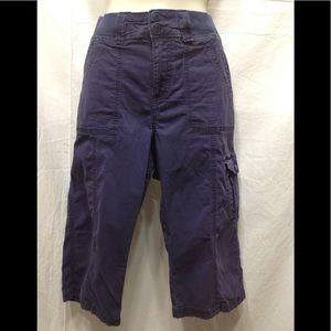 Women's size 12 LEE Easy Fit capri pants